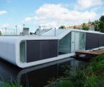 Moderný houseboat
